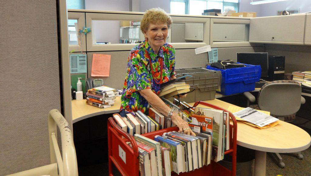 Calvert Library volunteer Martha