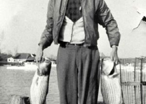 1940-1949 Warren Denton, founder of the Denton Oyster Company