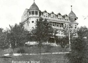 Belvedere Hotel, Chesapeake Beach.