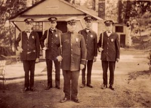 Police in Calvert County, 1925(?)