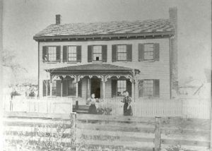 The Spicknall house on Patuxent Street, Lower Marlboro
