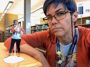 Calvert Librarian Meg