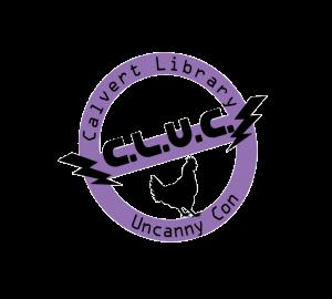 Calvert Library Uncanny Con logo