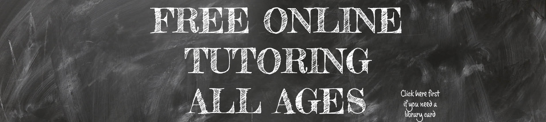 Free online tutoring all ages